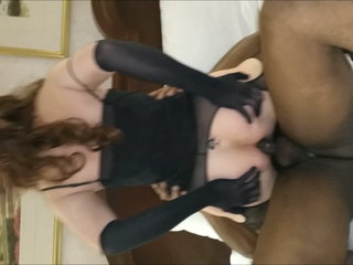 Slutyvanessa gangbang with 4 black cocks