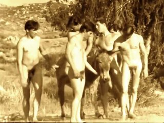 1960's Vintage Male Nudism Compilation