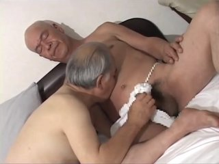 Japanese old man 89