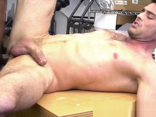 Casting stud spills cum while fucked by bbc