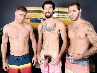 Carter Woods & Justin Matthews & Leeroy Jones in The Awkward Boner - NextdoorWorld