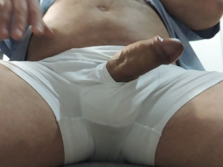 Daddy Wanking until Cum
