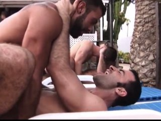 Hairy daddies  hot orgy