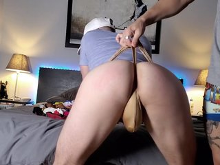 Cock Sucking And Ass Eating In Thong