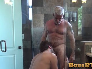 Stud Has His Ass Raw Fucked By His Older Lover Balls Deep