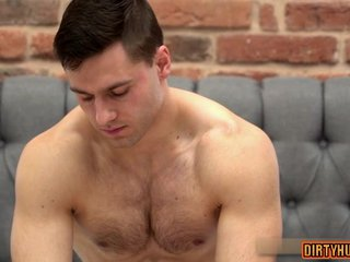 Muscle twinks anal sex and massage