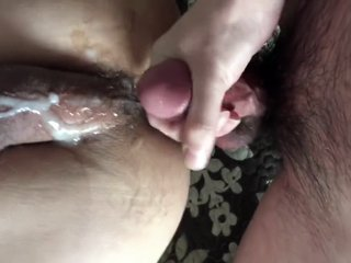 bareback fucking and cumming together