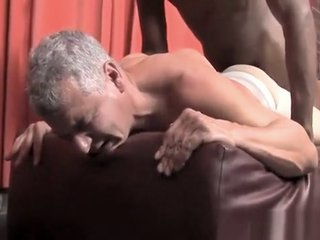White daddy gets fucks by black son