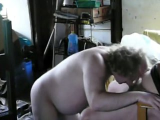 Me Sucking Cock in the Shed